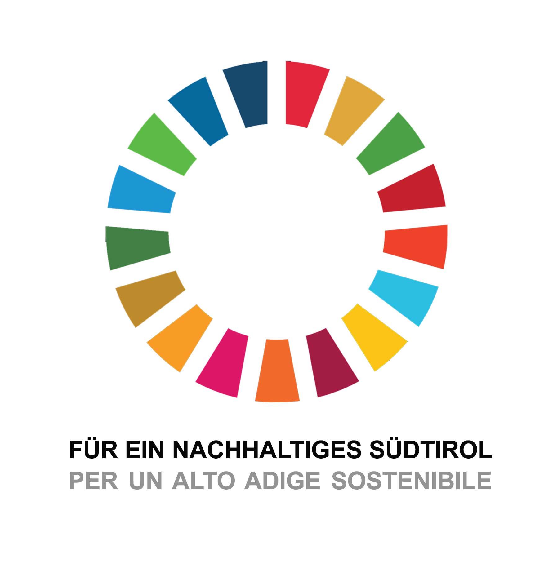 La rete dell'Alto Adige per la sostenibilità (logo)