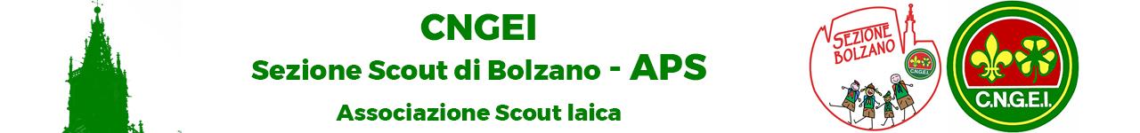 Sezione Scout di Bolzano del CNGEI Logo